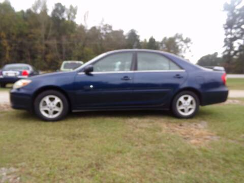 2002 Toyota Camry for sale at CHRIS AUTO SALES in Roanoke AL