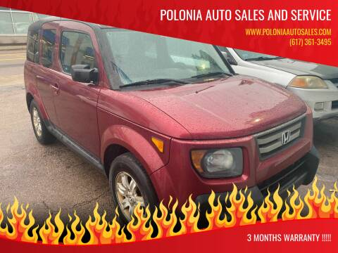 2008 Honda Element for sale at Polonia Auto Sales and Service in Hyde Park MA