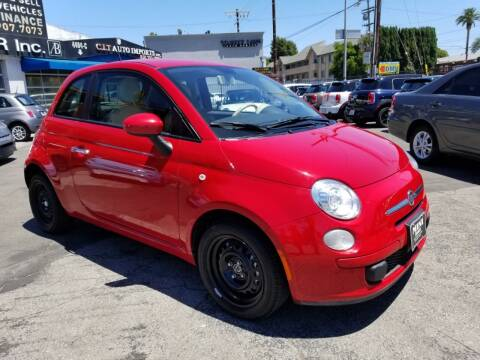 2015 FIAT 500 for sale at Auto Boomer Inc. in Sherman Oaks CA
