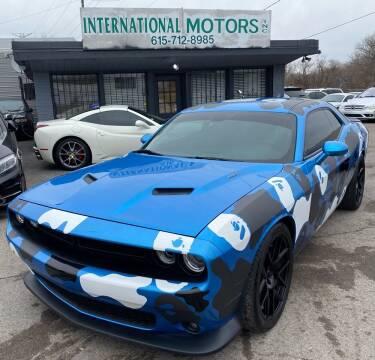 2015 Dodge Challenger for sale at International Motors Inc. in Nashville TN