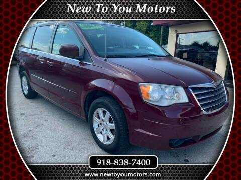 2008 Chrysler Town and Country for sale at New To You Motors in Tulsa OK