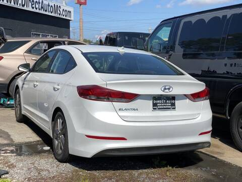 2017 Hyundai Elantra for sale at Direct Auto in D'Iberville MS