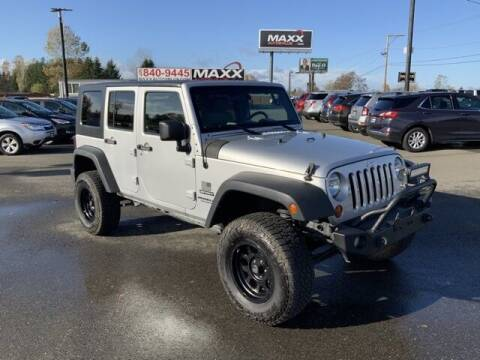 2010 Jeep Wrangler Unlimited for sale at Maxx Autos Plus in Puyallup WA