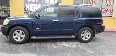 2006 Nissan Armada for sale at BSS AUTO SALES INC in Eustis FL