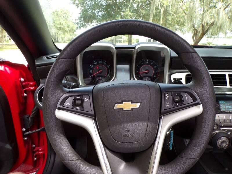 2012 Chevrolet Camaro LT 2dr Convertible w/1LT - Fruitland Park FL
