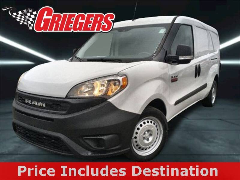 2020 RAM ProMaster City Cargo for sale at GRIEGER'S MOTOR SALES CHRYSLER DODGE JEEP RAM in Valparaiso IN
