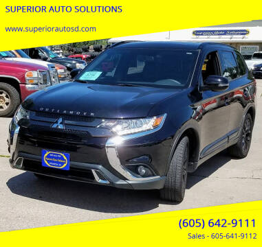 2019 Mitsubishi Outlander for sale at SUPERIOR AUTO SOLUTIONS in Spearfish SD