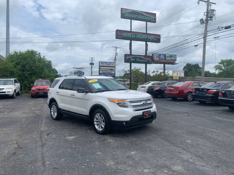 2011 Ford Explorer for sale at Boardman Auto Mall in Boardman OH