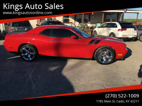 2012 Dodge Challenger for sale at Kings Auto Sales in Cadiz KY