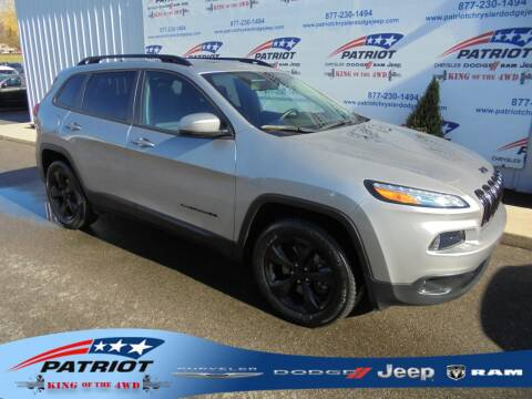 2018 Jeep Cherokee for sale at PATRIOT CHRYSLER DODGE JEEP RAM in Oakland MD