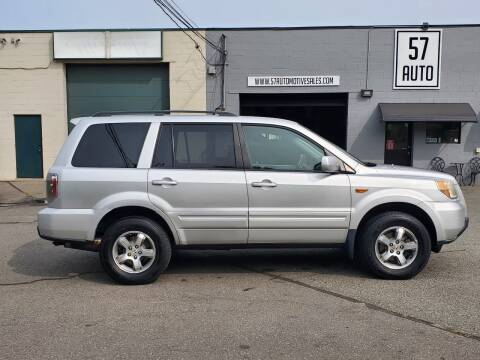 2008 Honda Pilot for sale at 57 AUTO in Feeding Hills MA