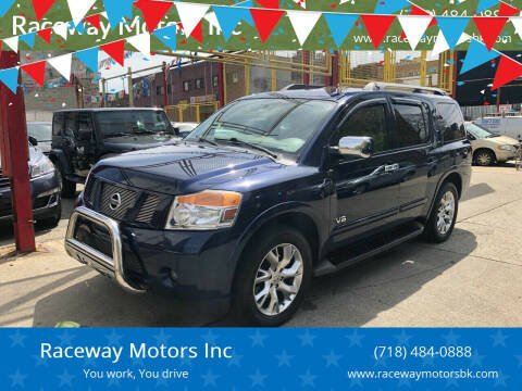 2011 Nissan Armada for sale at Raceway Motors Inc in Brooklyn NY