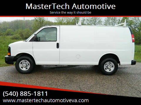 2011 Chevrolet Express Cargo for sale at MasterTech Automotive in Staunton VA