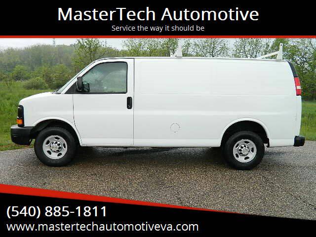 2011 Chevrolet Express Cargo for sale at MasterTech Automotive in Staunton VA
