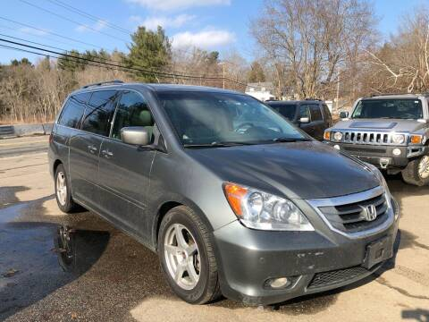 2008 Honda Odyssey for sale at Royal Crest Motors in Haverhill MA