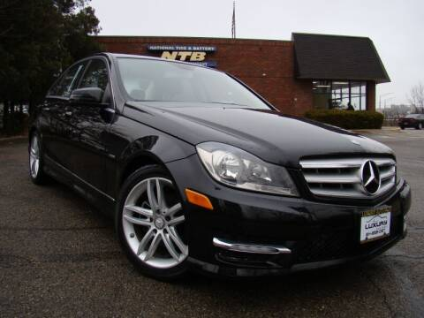 2012 Mercedes-Benz C-Class for sale at Columbus Luxury Cars in Columbus OH