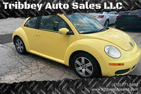 2006 Volkswagen New Beetle for sale at Tribbey Auto Sales in Stockbridge GA