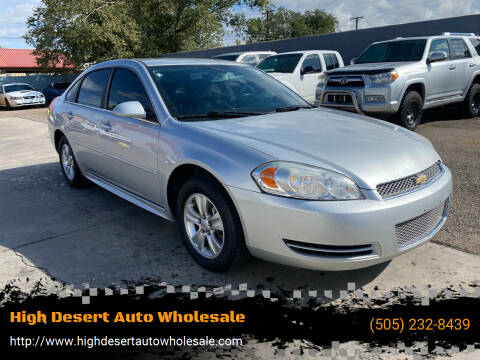 2014 Chevrolet Impala Limited for sale at High Desert Auto Wholesale in Albuquerque NM