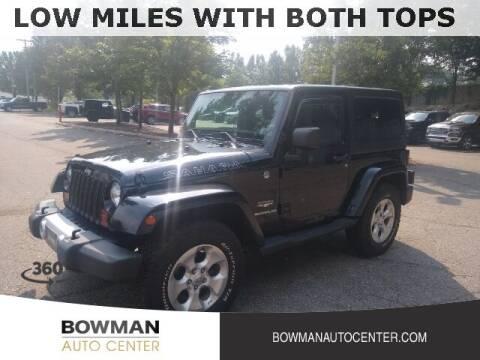 2012 Jeep Wrangler for sale at Bowman Auto Center in Clarkston MI