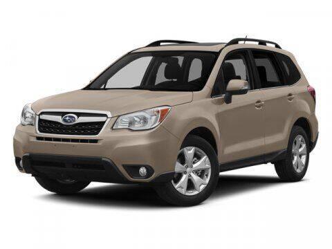 2014 Subaru Forester for sale at DAVID McDAVID HONDA OF IRVING in Irving TX