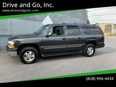 2003 Chevrolet Suburban for sale at Drive and Go, Inc. in Hickory NC