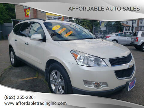 2012 Chevrolet Traverse for sale at Affordable Auto Sales in Irvington NJ