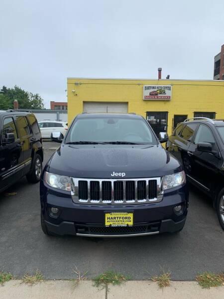 2012 Jeep Grand Cherokee for sale at Hartford Auto Center in Hartford CT