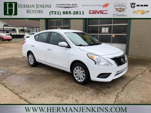 2018 Nissan Versa for sale at Herman Jenkins Used Cars in Union City TN