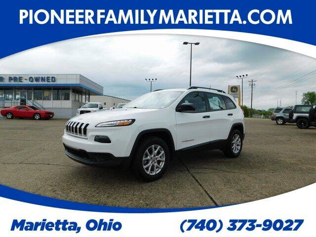 2016 Jeep Cherokee for sale at Pioneer Family preowned autos in Williamstown WV