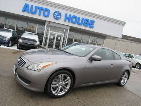 2008 Infiniti G37 for sale at Auto House Motors in Downers Grove IL