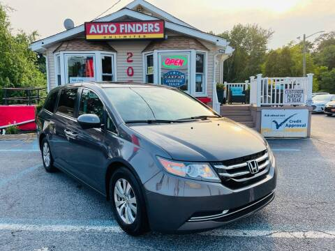 2016 Honda Odyssey for sale at Auto Finders Unlimited LLC in Vineland NJ