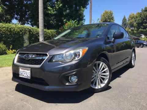 2012 Subaru Impreza for sale at Valley Coach Co Sales & Lsng in Van Nuys CA