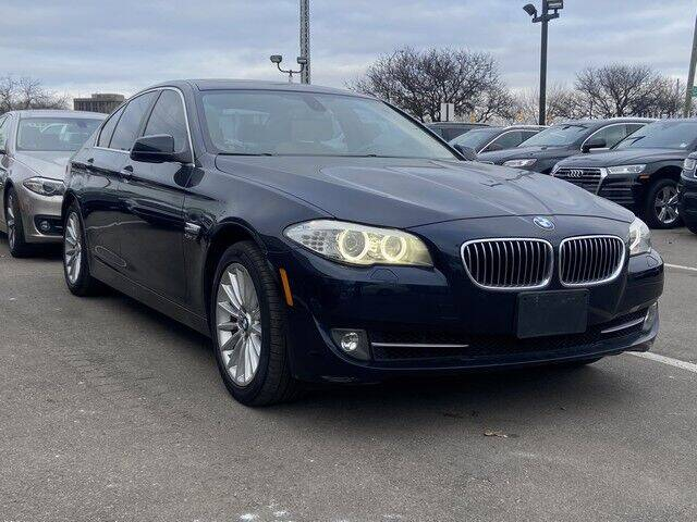 2012 BMW 5 Series for sale at SOUTHFIELD QUALITY CARS in Detroit MI