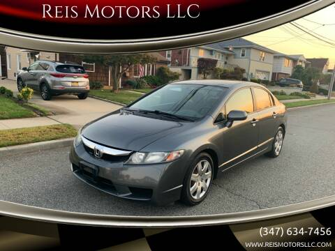 2009 Honda Civic for sale at Reis Motors LLC in Lawrence NY