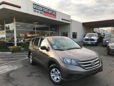 2013 Honda CR-V for sale at Golden State Auto Inc. in Rancho Cordova CA