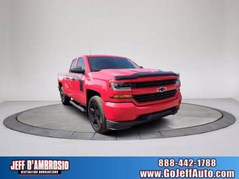 2017 Chevrolet Silverado 1500 for sale at Jeff D'Ambrosio Auto Group in Downingtown PA