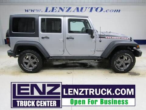 2017 Jeep Wrangler Unlimited for sale at LENZ TRUCK CENTER in Fond Du Lac WI