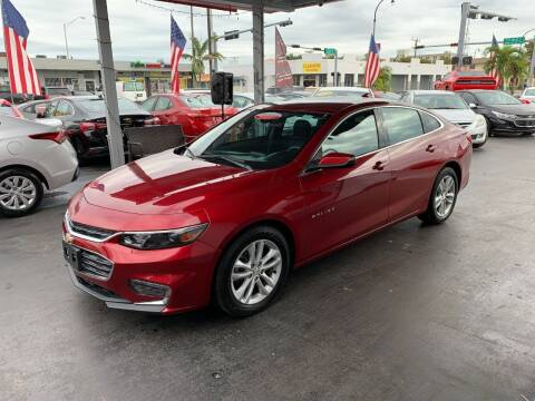 2018 Chevrolet Malibu for sale at American Auto Sales in Hialeah FL