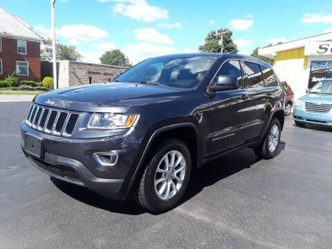 2014 Jeep Grand Cherokee for sale at Sarchione INC in Alliance OH