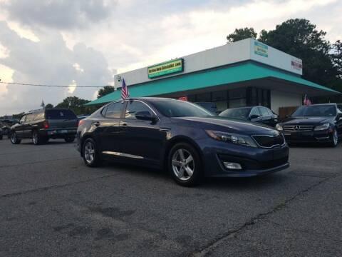 2015 Kia Optima for sale at Action Auto Specialist in Norfolk VA