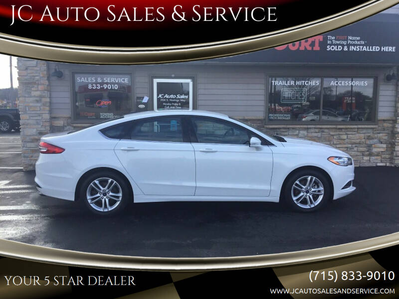 2018 Ford Fusion for sale at JC Auto Sales & Service in Eau Claire WI