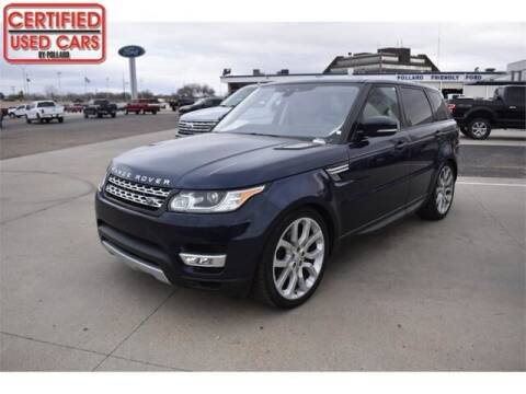 2017 Land Rover Range Rover Sport for sale at South Plains Autoplex by RANDY BUCHANAN in Lubbock TX