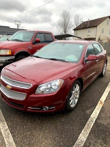 2011 Chevrolet Malibu for sale at Edens Auto Ranch in Bellaire OH