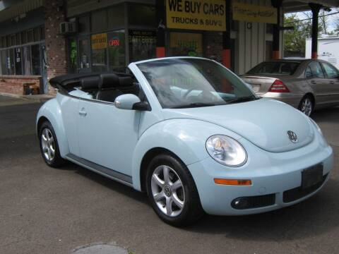 2006 Volkswagen New Beetle for sale at D & M Auto Sales in Corvallis OR
