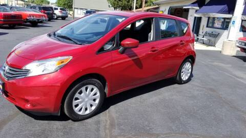 2015 Nissan Versa Note for sale at Advantage Auto Sales & Imports Inc in Loves Park IL