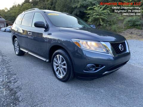 2013 Nissan Pathfinder for sale at Armenia Motors in Seymour TN