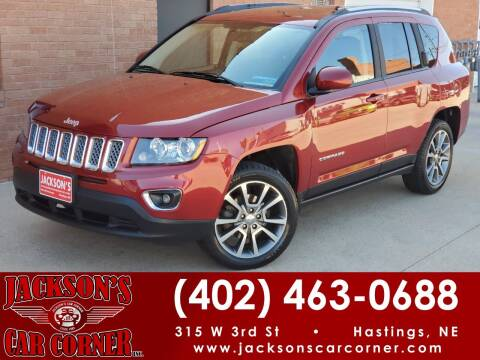 2015 Jeep Compass for sale at Jacksons Car Corner Inc in Hastings NE