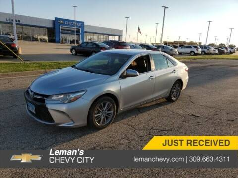 2016 Toyota Camry for sale at Leman's Chevy City in Bloomington IL