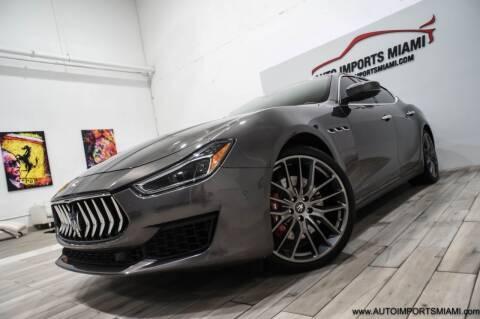 2018 Maserati Ghibli for sale at AUTO IMPORTS MIAMI in Fort Lauderdale FL