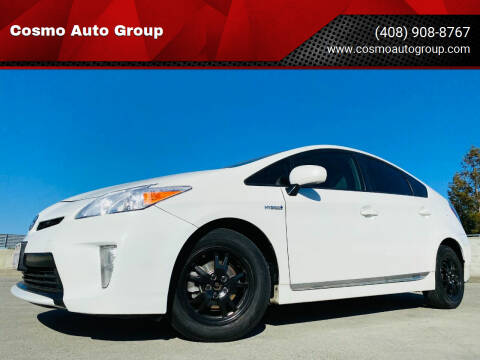 2013 Toyota Prius for sale at Cosmo Auto Group in San Jose CA